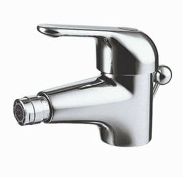 Ideal Standard Tratto bidet mixer tap with pop-up waste. Single lever. 618CP